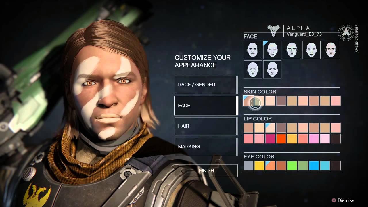 destiny character creation - photo #21