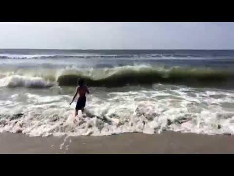 Fishing in Atlantic Ocean Atlantic City