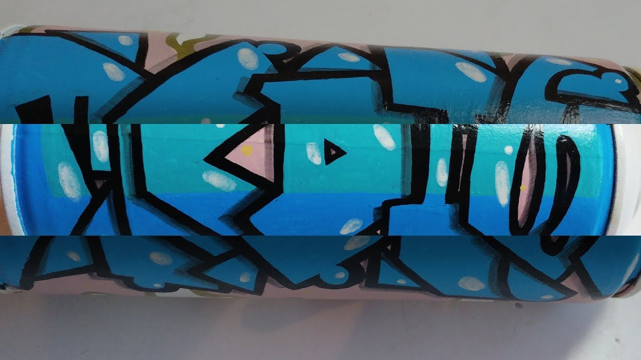 Simple Can - SHAVE Graffiti Piece #170