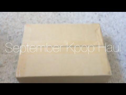 Huge September Kpop Haul | Unboxing [EXO,...
