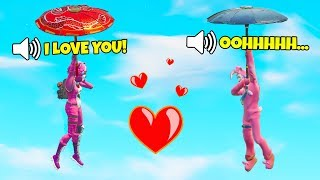 When You Team Up With a Girl | Voice Chat | Fortnite WTF, Troll & Funny Moments #28