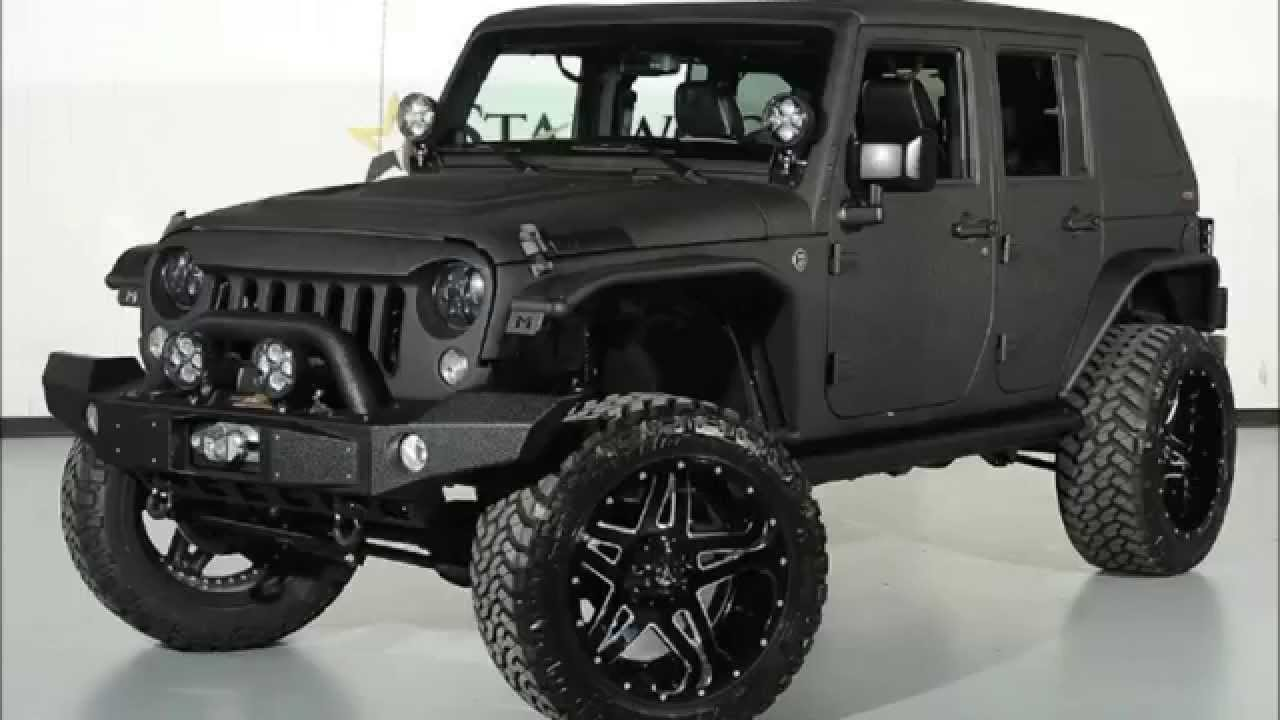 2014 Jeep Wrangler Unlimited Kevlar Coated Fastback Lifted