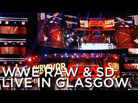 2016-11-07 & 2016-11-08 'WWE Monday Night RAW, SmackDown LIVE, Superstars & Main Event', SSE Hydro,