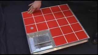 Напольный люк под плитку с амортизаторами Лифт Revizor®(, 2014-01-21T19:03:37.000Z)