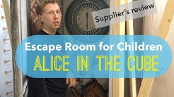 "Escape room ""Alice in the Сube"" - supplier`s review (ready to play escape room)"