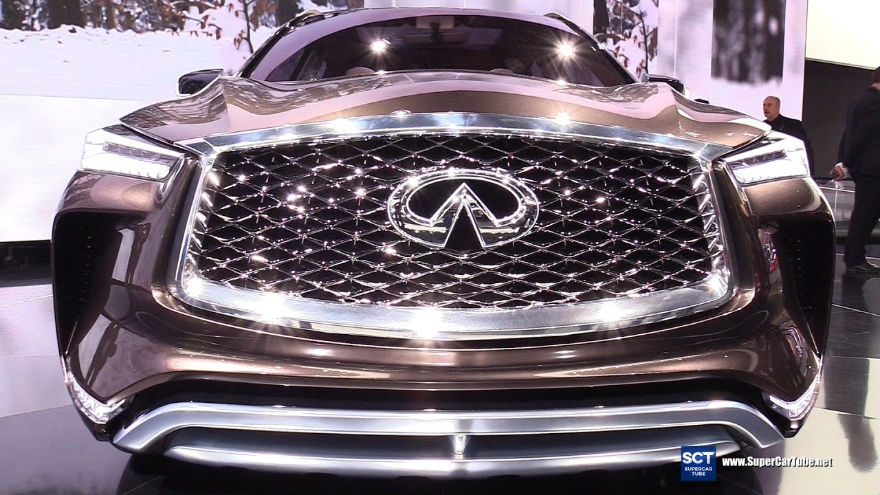 2018 infiniti qx50 concept exterior and interior walkaround debut at 2017 detroit auto show. Black Bedroom Furniture Sets. Home Design Ideas