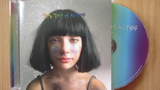 Sia - This Is Acting deluxe edition / unboxing cd / thumbnail