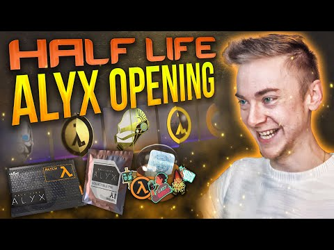 Half Life Alyx Opening! (Pins/Stickers/Patches)