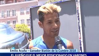 Emilio Acuña – Ganador Biatlón de la Cumbre 2018