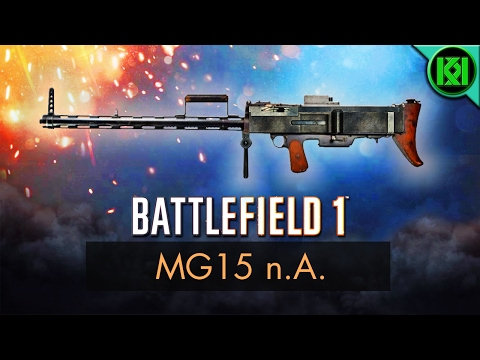 Battlefield 1: MG15 n.A. Review (Weapon Guide) | BF1 Weapons + Guns | Bergmann 1915 nA Gameplay