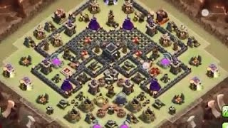 How to 3 Star the popular Anti 3 star th9 war base!
