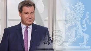 Ministerpräsident Dr. Söder zum Bayerischen Asylplan - Bayern
