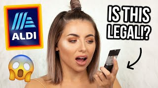 Download TESTING ALDI MAKEUP! FIRST IMPRESSIONS, REVIEW + WEAR TEST! HIGH END DUPES!? Mp3 and Videos