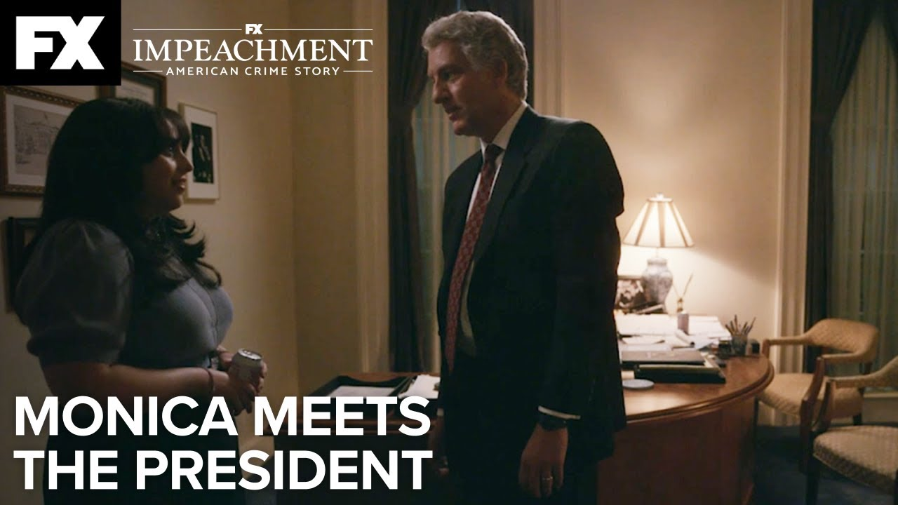 Download Impeachment: American Crime Story   Monica Meets the President -  Ep.2 Highlight   FX