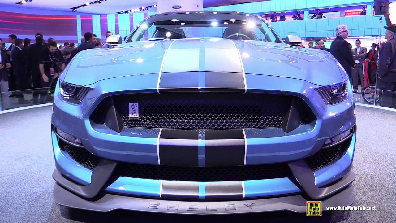 Ford Mustang Shelby GTR Exterior Walkaround Detroit - Discount auto show tickets