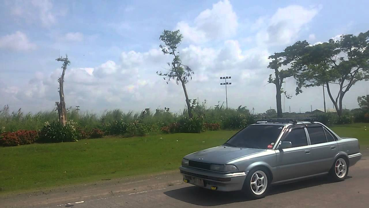 toyota corolla club philippines convoy - youtube