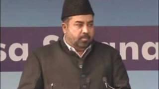 Ahmadiyya : Islami Jihad Ki Haqeekath Jalsa Qadian 2009 Day 2 Morning Part 1/4