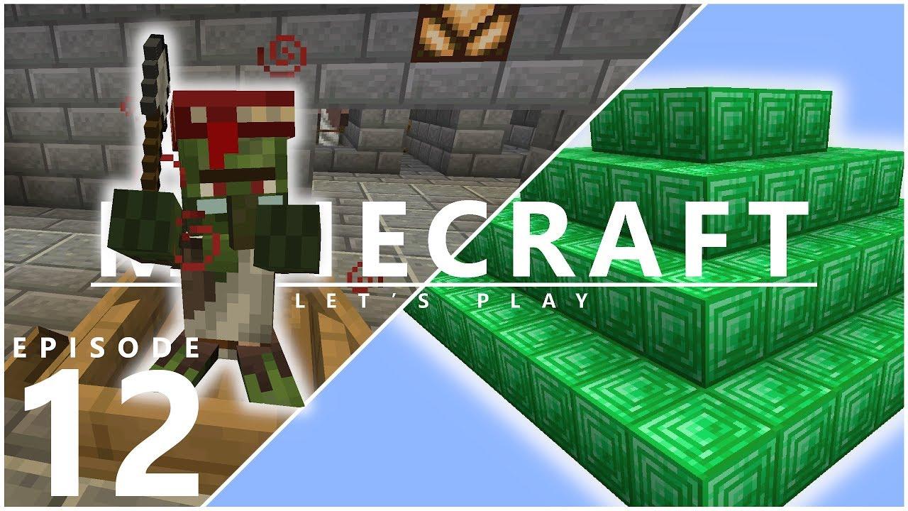 Lets Play Minecraft 114 Best Emerald Trade In Minecraft