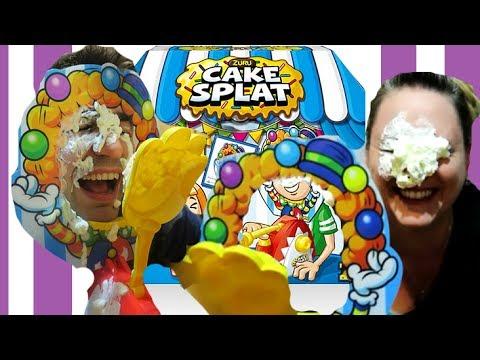 Cake Splat Vs Pie Face