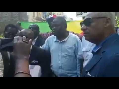 DIASPORA: Affaire Roland Nitou - Isidore Mvouba, 1ere j'ournée d'audition à Paris 24/07/2018