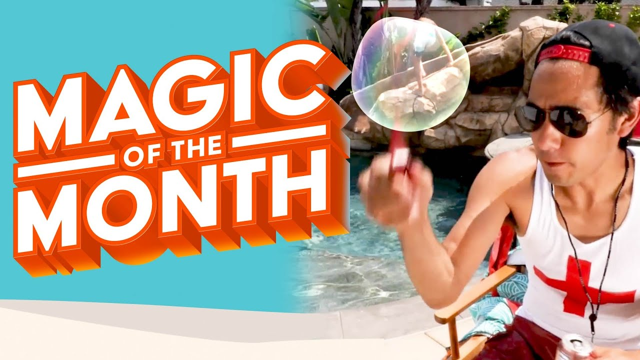 Zach King Reacts To Your Tricks | MAGIC OF THE MONTH - August 2020