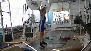 Ксенофонтов Матвей, 13 лет, вк 34 Рывок 34 кг +Присед