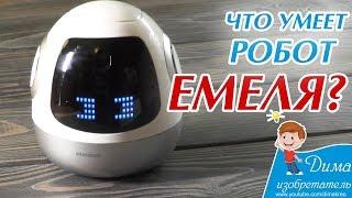 Робот Емеля – обзор функций и тестирование самого болтливого робота!