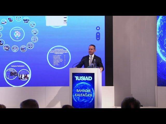TÜSİAD Genel Sekreteri Bahadır Kaleağası - TÜSİAD 48. Olağan Genel Kurul Toplantısı Sunumu