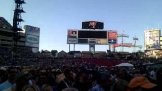Zac Brown Band crowd at Tampa Raymond James stadium