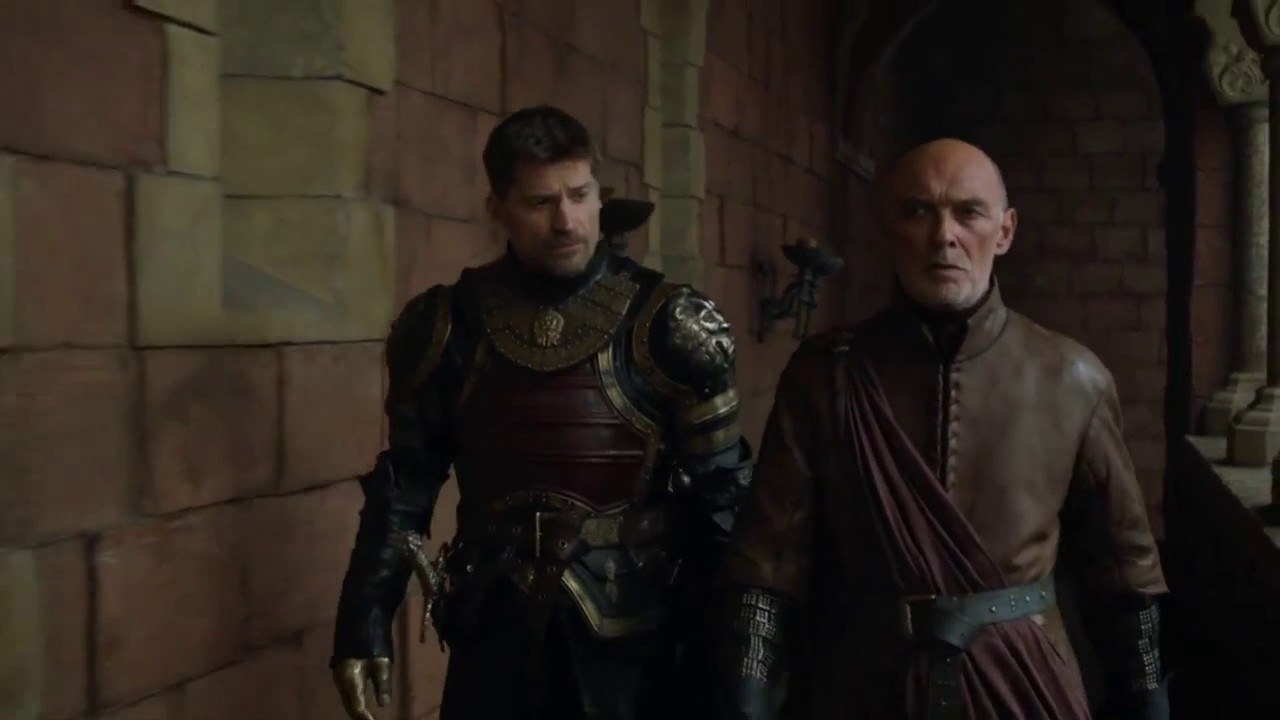 Game Of Thrones 7x02 Lord Randyll Tarly At King's Landing - YouTube