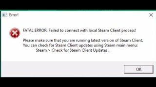 Steam Fatal Error