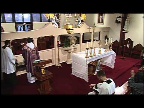 Full Mass From EWTN  Ash Wednesday  2015.2.18  Fr. Mark