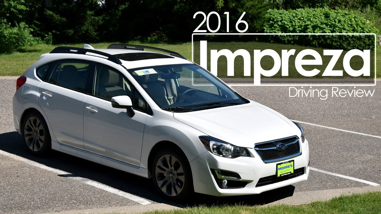 2016 Subaru Impreza Sport Premium Road Test Driving Review Drive