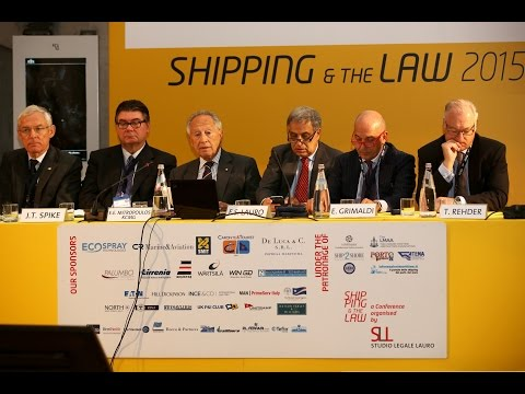 """5.0 Shipping and the Law 2015 - Session """"The art of Shipping..."""", E. E. Mitropoulos"""