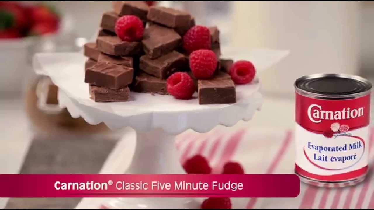 Carnation Classic Five Minute Fudge Youtube