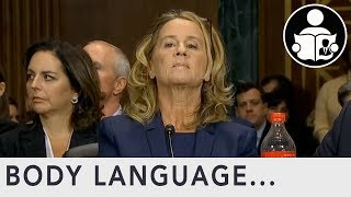 Body Language: Brett Kavanaugh Hearing Christine Blasey Ford thumbnail