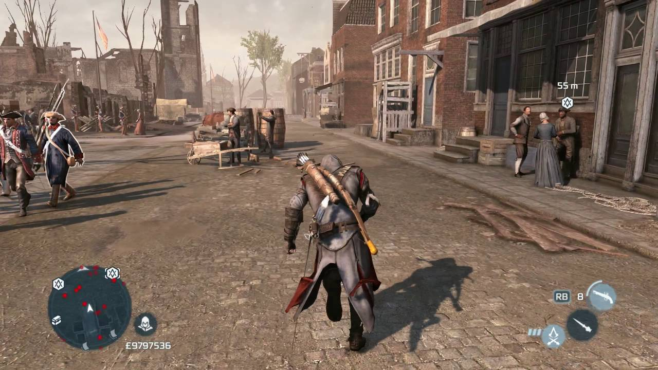 Assassin S Creed 3 New York All Liberation Missions Youtube
