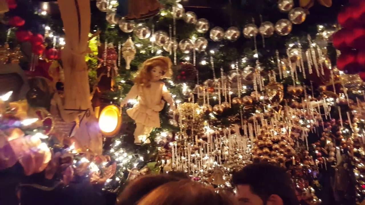 Rolf S Christmas Bar New York Youtube