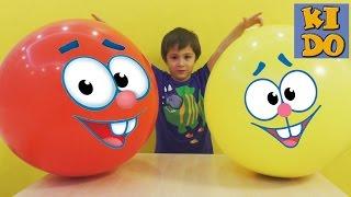 Огромные Шары с сюрпризами TURTLES Черепашки ниндзя и яйца с сюрпризами Huge balls with surprises