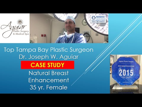 Natural Breast Augmentation Tampa FL| 813-658-3600| Aguiar Plastic Surgery | 33626 | Reviews | Best
