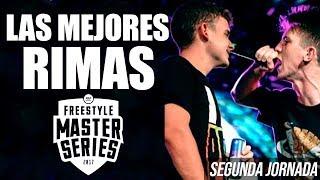 Las MEJORES RIMAS de la SEGUNDA JORNADA de la FMS 2018 🇪🇸 - Freestyle Master Series Alicante