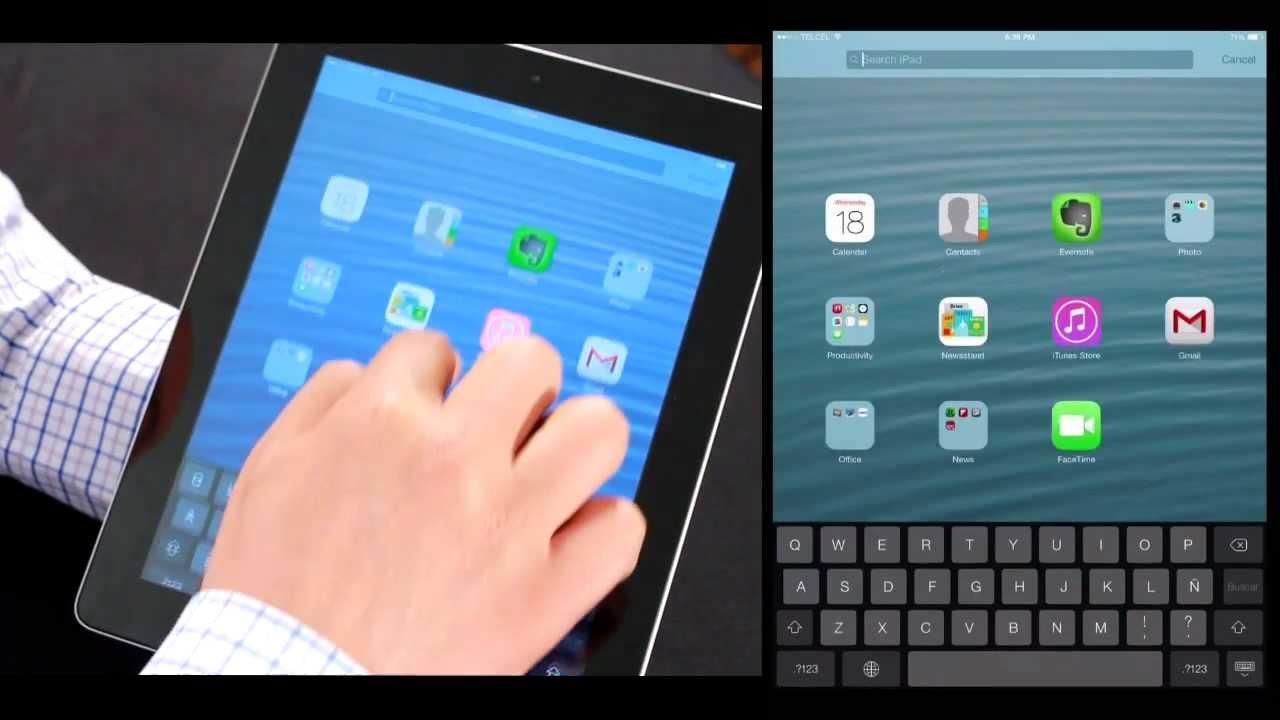 Actualizando un iPad a iOS 7 en video - YouTube