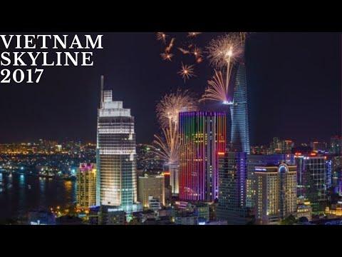 VietNam skyline 2017s(Ha Noi-Da Nang-Ho Chi Minh city)