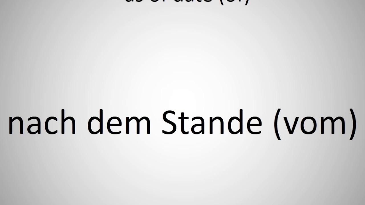 dating translation german