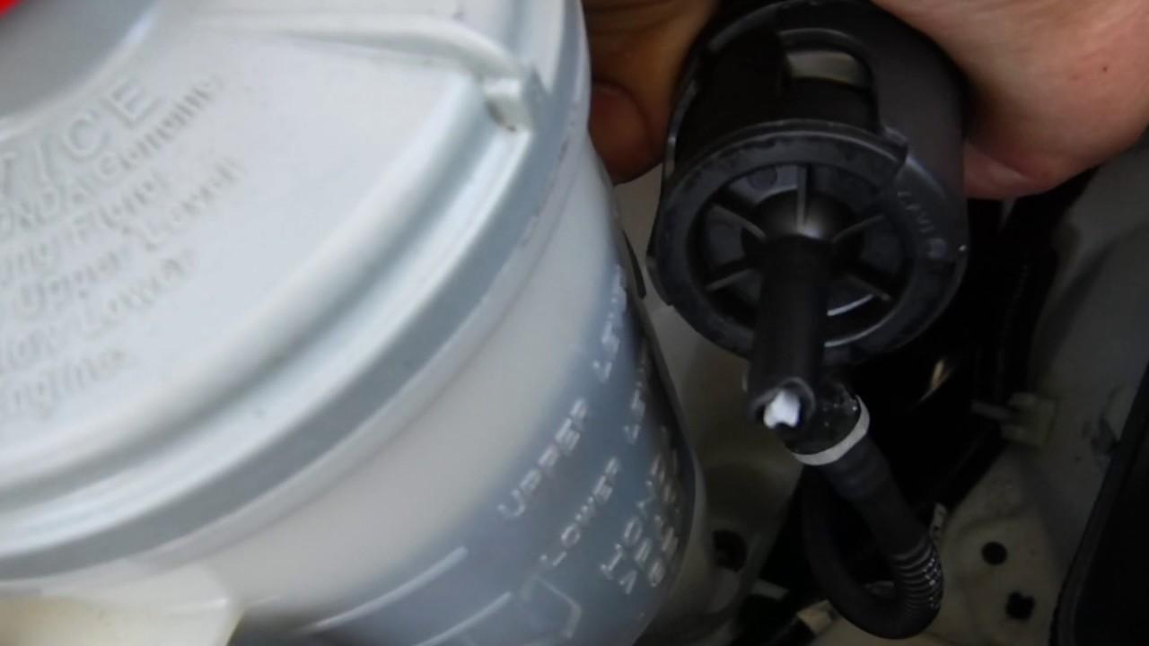 How To Remove Windshield Washer Pump Honda Pilot - YouTube