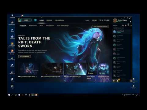 how to put the new client for league