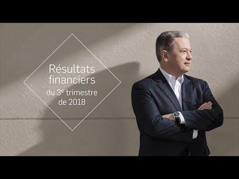 Résultats financiers du 3e trimestre de 2018 – Entrevue avec Neil Bruce