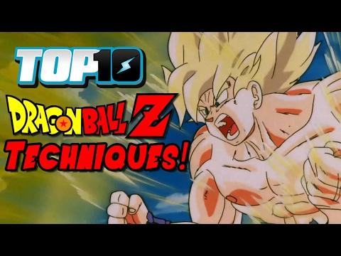 Top 10 Dragon Ball Z Techniques!