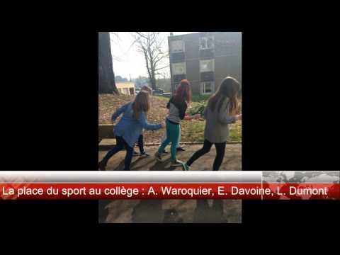 JT Collège Joliot Curie Fourmies