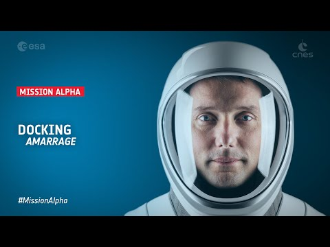 #MissionAlpha - Entrée de Thomas Pesquet dans l'ISS/Entering the ISS